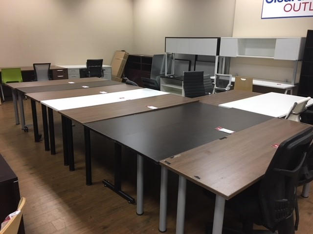 Assorted EZ-Linx Tables