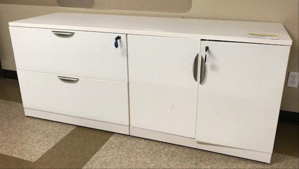Credenza with Filing and Storage