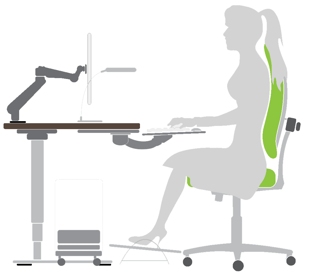 How to setup and ergonomic workstation