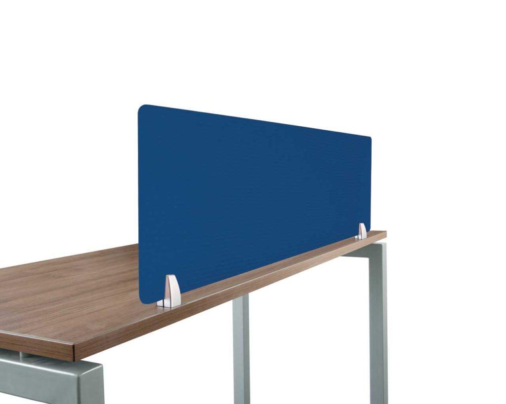 Blue Fabric Panel