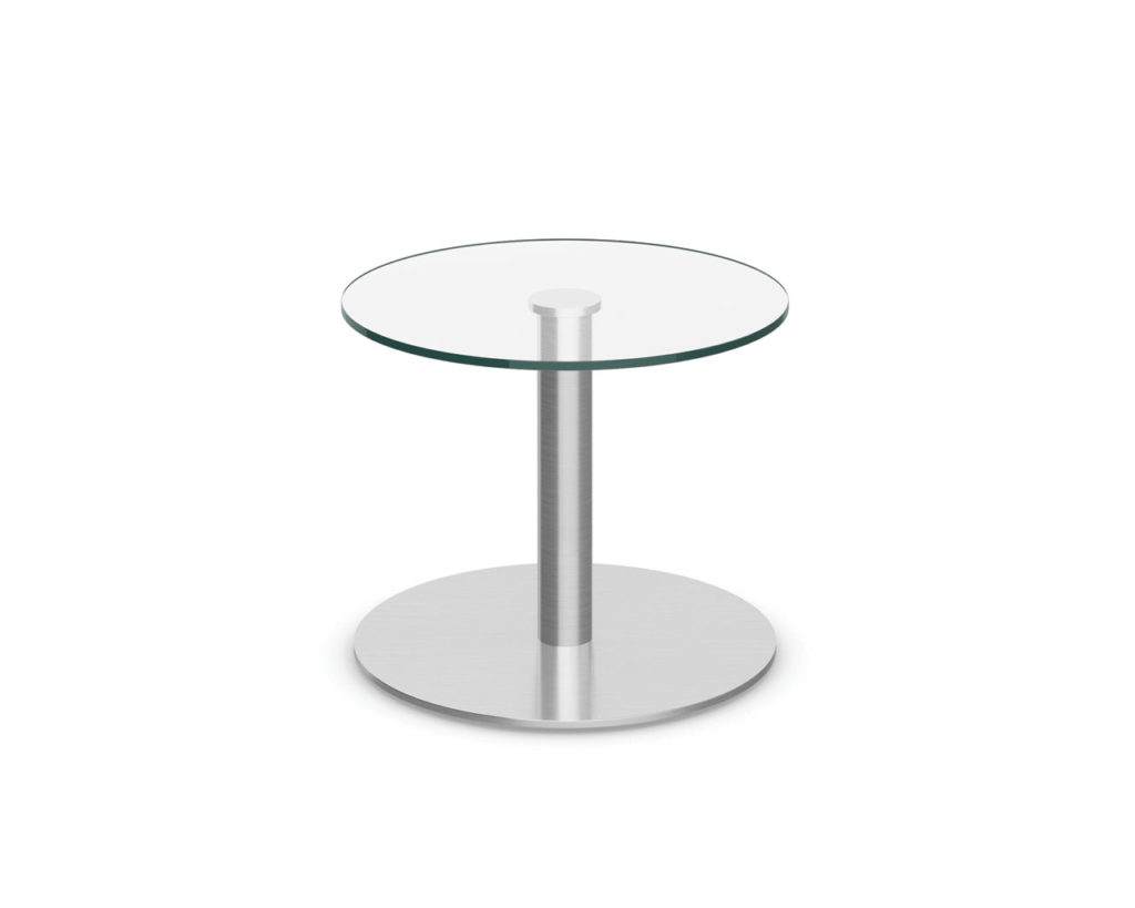 Classic Round 20 29 Or 42 Glass Top Table Source Office Furniture