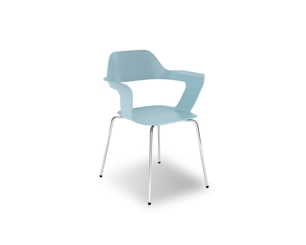 Avery Guest Chair in Sky Blue