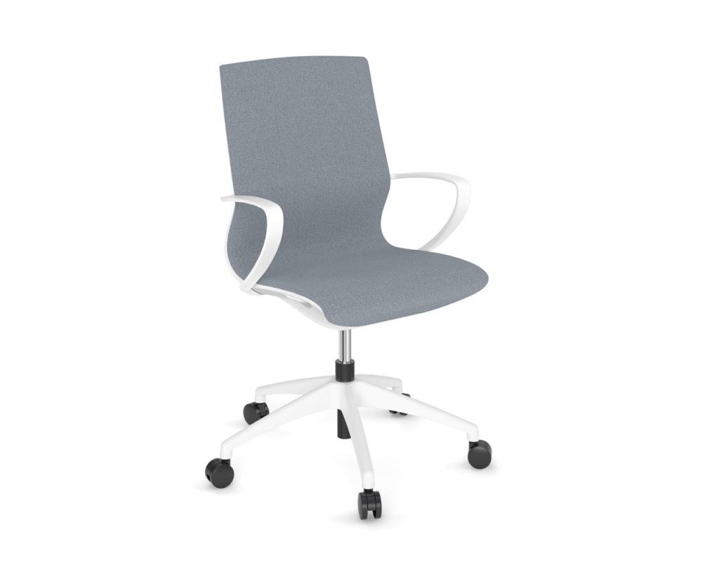 Maric Chair in Blue fabric