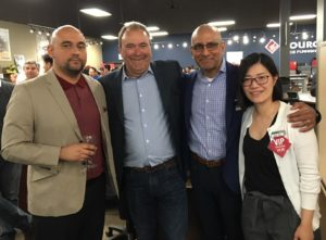 Source Markham staff members networking at last year's event