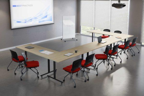 EZ Linx boardroom table - U-Shape