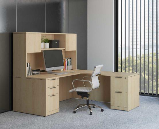 Classic Series L-Shaped Desk
