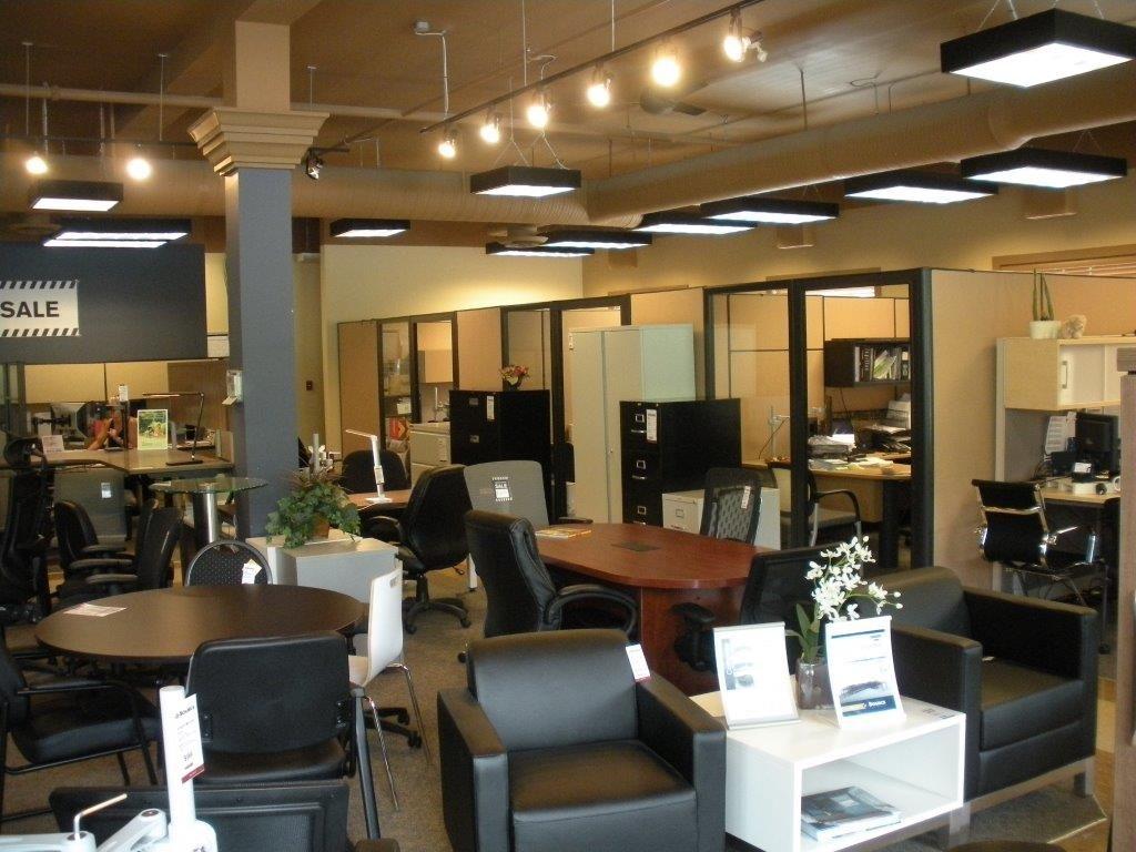 Showroom offices Kelowna before