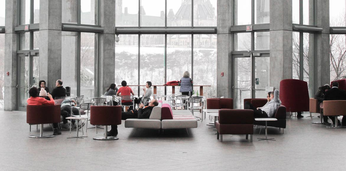 Modern working area