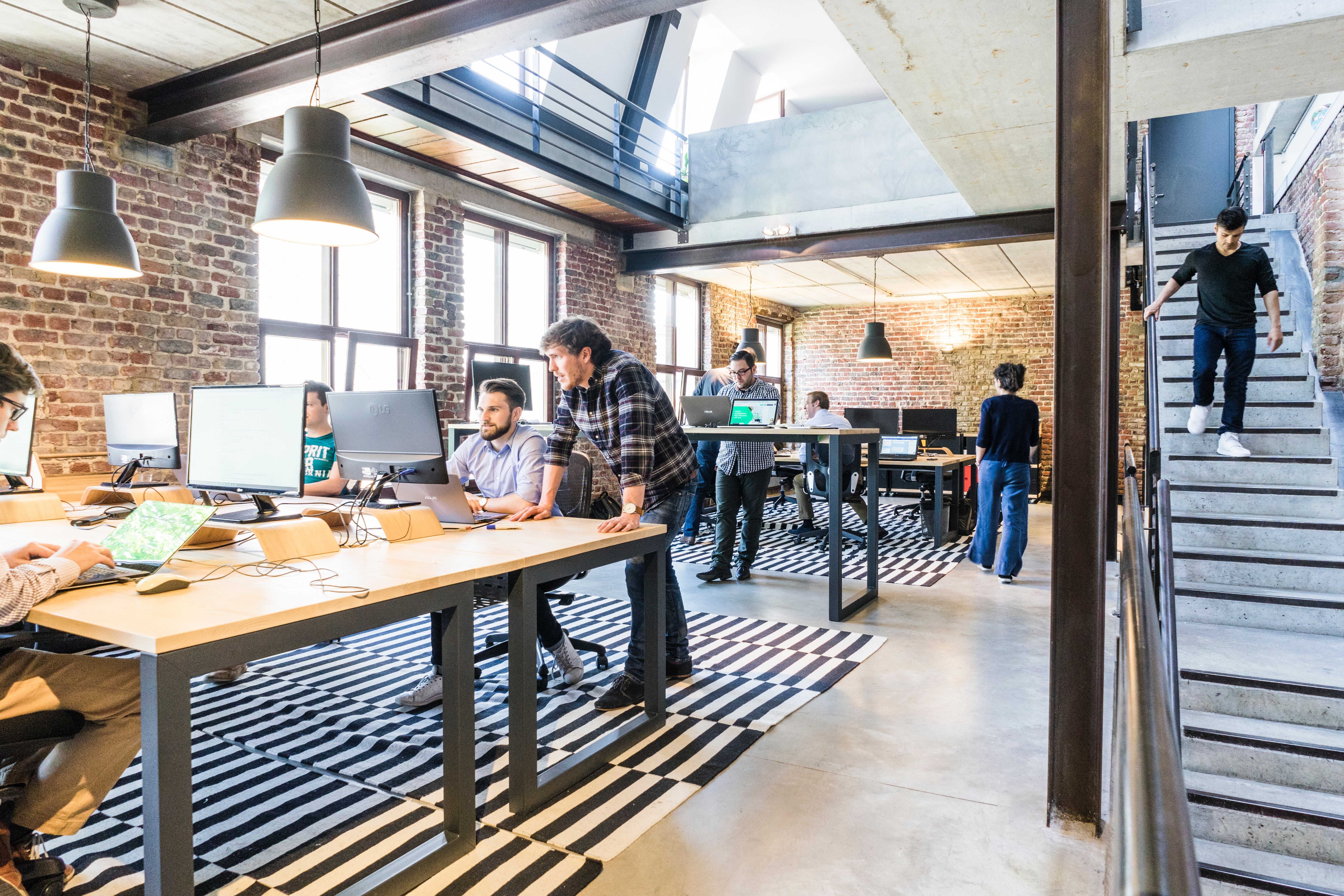 Working Modern Office