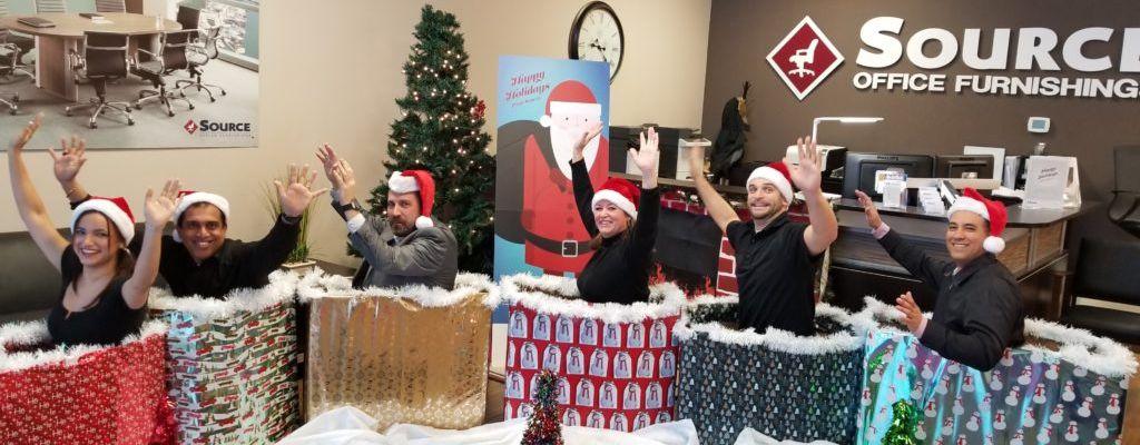 Celebrating the Holidays at Source: Photos